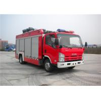 Professional 3 Seat Light Rescue Fire Trucks 139kw With ISUZU Chassis Manufactures