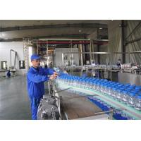 Full Automatic Small Bottled Drinking Water Production Line SUS304 Manufactures