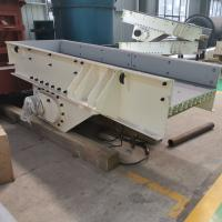 China Low Noise Silica Sand Vibrating Screen Machine Sand Blasted Surface Treatment on sale