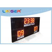 High Brightness Football Electronic Scoreboard Outdoor For University Manufactures