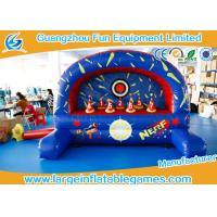 Outdoor / Indoor Inflatable Sport Games , Inflatable Nerf Shootout Game Manufactures