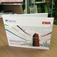 CE Digital Video Booklet For Presentations Digital Advertising Player , Matte Cover Manufactures