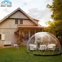 Giant Geodesic Dome Tent Camping PVC Fabric Aluminum Alloy Frame Manufactures
