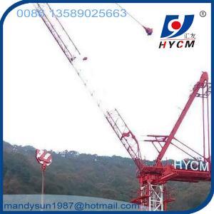 6tons QTD2520 Luffing Jib Crane Feature Tower Crane 25m Jib Tower Crane Manufactures