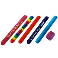 Buy cheap Printing LOGO silicone slap bracelets silicone slap bands Available molds from wholesalers