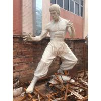 Buy cheap Props and oddities  fiberglass bruce lee statue/sculpture as decoration in hotel mall display model from wholesalers