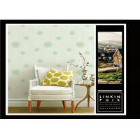 Fashion PVC Classic Vintage Wallpaper Removable For Sitting Room , Easy To Clean Manufactures