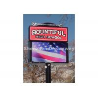Quality 256mm x 256 mm P 16 Outdoor LED Sign with Automatic Brightness Control for sale
