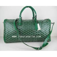 China Free shipping green Goyard Croisiere handbag on sale