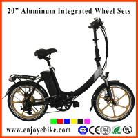 high level 20inch folding mini electric bike electric bicycle Manufactures