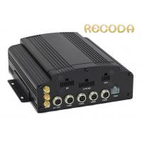 1080P Resolution Mobile 4 Camera Car DVR With 4G 3G Recorder , FCC ROHS Certification Manufactures