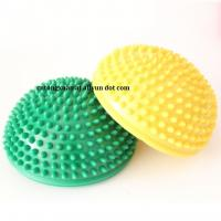 Fitness Massage Ball Eco-friendly Soft PVC Gym Spiky Ball Manufactures