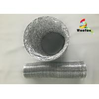 Round 8 Inch Range Hood Flexible Duct Aluminum Single Sided  Eco Friendly Manufactures