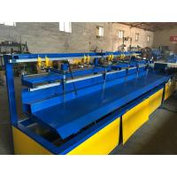 Double / Single Wire Fully Automatic Chain Link Fence Machine Serve Motor Manufactures