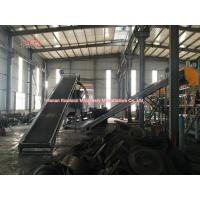 High Efficiency Tire Recycling Plant No Waste Residue 0.25-10 Ton/Hour Manufactures