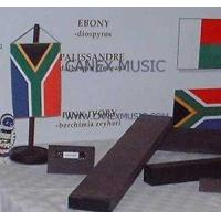 Ebony and Black Wood for Double Basses Manufactures
