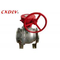 DN150 6 Inch 2PC Trunnion Ball Valve CF8M Stainless Steel Split Body Price Manufactures