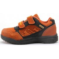 Quality Kids Suede Leather Outdoor Hiking Shoes for Boys for sale