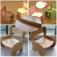 China Lovely B Wood Bamboo Young Children Chair on sale