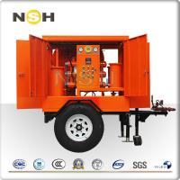 Dehydration Machine Transformer Oil Purifier Single Stage For MediumLow Voltage Manufactures