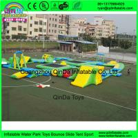 Buy cheap Custom design outdoor adults giant inflatable floating water park for open water entertainment from Guangzhou from wholesalers