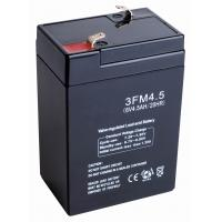 Power Backup SLA Emergency Lighting Battery Replacement 6v 4ah 3FM4 for Fire & Security Manufactures