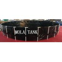 Quality New design products portable flexible cube structure fish farming tanks for sale for sale