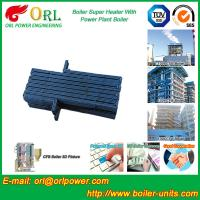 Oil Industry Heating Boiler Steam Super Heater 110 MW Rate Factor Heating Elements Manufactures