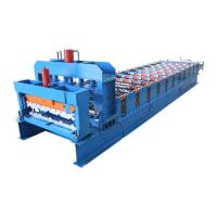Steel Tile Forming Machine For Roofing Glazed Sheet Metal Construction Materials Manufactures