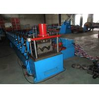 Thrie Beam Highway Guardrail Roll Forming Machine Higher Impact Endurance Manufactures