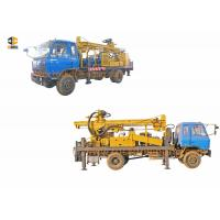 Diesel Engine Driven Water Well Digging Equipment Mounted On 4 X 4 Truck For Bad Roads Manufactures