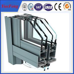aluminium windows powder coating, supply construction aluminum extrusion for curtain wall Manufactures