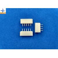 2.50mm Pitch Wire-to-Board Header Vertical Shrouded Tin (Sn) Plating wafer connector Manufactures