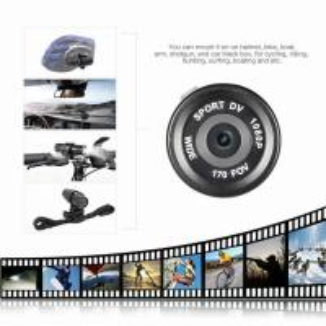 HD 1080P Video DV Gun Clip Mount Bike Helmet Sport Action Camera Camcorder DVR Cheap Sport DVR  Made in China Manufactures
