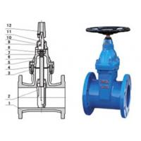 RVHX\RVCX non rising stem resilient seated gate chemicals, power station valve Manufactures