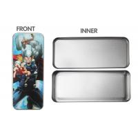 3d Lenticular Pencil Box Tin For Children , Tin Pencil Box For Gifts Manufactures