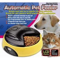 China 4 Meal LCD Automatic PET Feeder KPF-05A on sale