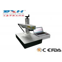 Fully Automatic Fiber Laser Marking Machine Usb Laser Engraver Online Editing Function Manufactures