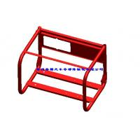 Red Customized Portable Generator Frame , 720mm * 520mm * 560mm Manufactures