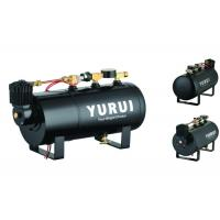 Quality Durable Black Small 2 In 1 Air Lift Suspension Compressor With 1.0 Gallon Air Tank for sale