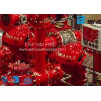 Horizontal Diesel Engine Driven Fire Pump Centrifugal 1500GPM@140PSI Manufactures