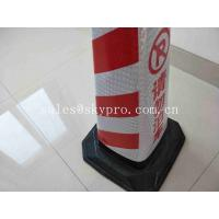 No Parking Traffic Cones PE Warning Cones Reflective Flexible Safety Barriers Manufactures