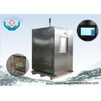 Safety Interlock Medical Waste Large Steam Sterilizer with thermally insulated Manufactures