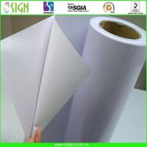 digital printing self adhesive vinyl/printing stickers/transparent pvc film Manufactures
