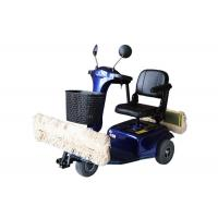 High Efficient Dust Cart Scooter Traditional Mop And Electric Cars Combination Manufactures