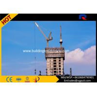 Small Internal Climbing Tower Crane Inner Building 65 m With Horizontal Jib Manufactures