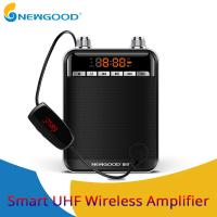 China NEWGOOD Black UHF,2.4Ghz High Powerful 9V 50W wireless amplification Loud speakers for school classroom professor on sale