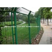 China Powder Coated Galvanised Steel Mesh Fence Panels For Highway 1800mmx3000mm on sale