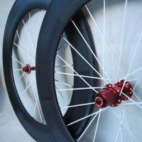 700C Carbon Bicycle Wheel Set, Measures 20, 24, 38, 50, 60 and 88mm, Clincher and Tubular Manufactures