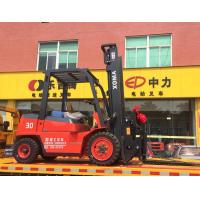 China Effective Diesel Powered Forklift , High Reach Forklift3000kg Loading Capacity on sale